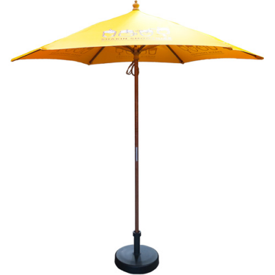 Image of 2.5m Wooden Parasol